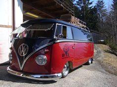 Custom VW Bus   Auto Custom n' Restoration: Slammed VW Panel