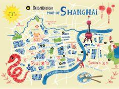 ReignDesign Map of Shanghai 2 by ReignDesign