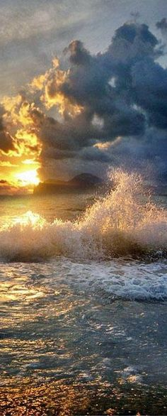 Down by the ocean, I saw a mighty storm. Clouds brought lightning. I could not get warm. I was a tiny figure, Lost in a world of hate, That had few boundaries. It's power was great.  It…