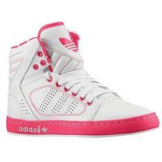 adidas Originals Adi High EXT - Women's - White/White/Blaze Pink