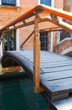Bridge. Fondazione Querini Stampalia. 1961-3. Venice, Italy. Carlo Scarpa. Photo by James Butler