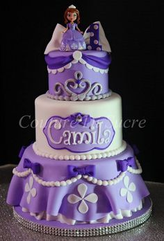 Sofia the first birthday cake 25                                                                                                                                                                                 More