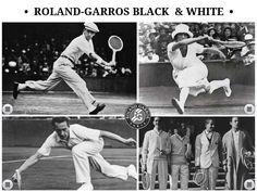Roland-Garros Black & White - Created on Tactilize