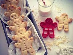 cortador de biscoito de natal forma gingerbread - 3d