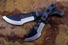 TOPS knives Tom Brown Tracker reground by Tom Krein!