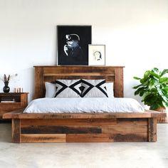 Fancy - Reclaimed Wood Platform Bed