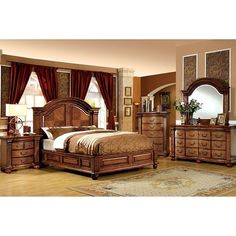 Bellagrand Queen Bed Collection - CM7738Q