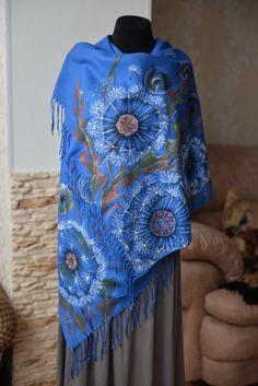 Сashmere платок подарок для нее Свободная перевозка груза, скидки, большой платок мягкий кашемир шелка красивая шарф платок одуванчики автор живописи цветов