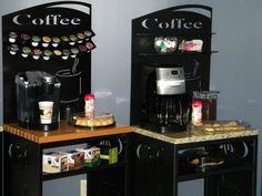 want! Keurig coffee station