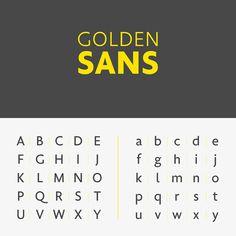Free Golden Sans Font
