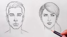 How to Draw Faces for Beginners - YouTube #DrawingFaces