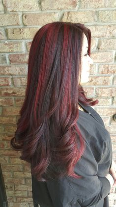 Red chunky highlights                                                                                                                                                                                 More