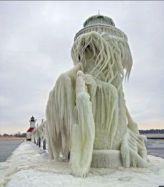 Lighthouse Ice Bird