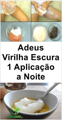 Passe Apenas 1 Vez Para Clarear a Virilha em 5 Minutos #clarearvirilha #virilhaescura #clareamentodavirilha #beleza Skin Care Spa, Natural Skin Care, Homemade Hair Removal, Creme Anti Age, Natural Toothpaste, Fitness Workout For Women, Healthy Skin Care, Face Hair, How To Make Hair