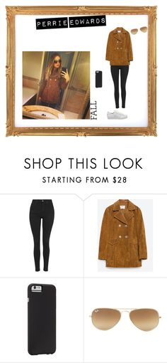 """Steal Her Style: Perrie Edwards"" by celebrityinspiration-1 ❤ liked on Polyvore featuring Topshop, Zara, Case-Mate, Ray-Ban, adidas, littlemix, Stealherstyle, perrieedwards and fall2015"