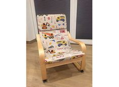 Genäht von Ilona » für kleine Baustellen-Fans Diy And Crafts, Armchair, Furniture, Home Decor, Fabrics, Ikea Childrens Chair, Ikea Armchair, Daughter Tattoos, Sofa Chair