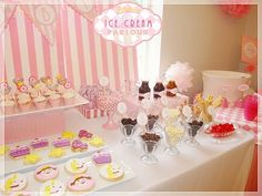 Pinkalicious party- @Nicole Kirkley look at the cookies!! we can make those ;)