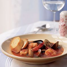Healthy Mother's Cioppino Recipe < 101 Healthy Soup Recipes - Cooking Light