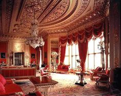 World& Largest Castle . Interior of the Windsor castle,England Buckingham Palace, Grand Hall, Royal Residence, Windsor Castle, Windsor Palace, Queen Mary, Drawing Room, Beautiful Interiors, Norfolk