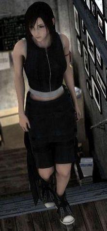 Tifa Lockhart. Final Fantasy VII: Advent Children Complete.