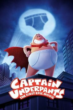 Captain Underpants: The First Epic Movie (2017) Full Movie Streaming HD