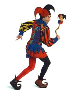 It's easy to imagine a court jester - the colorful trickster with bells jingling from his floppy hat. Description from cuzinrichard.com. I searched for this on bing.com/images