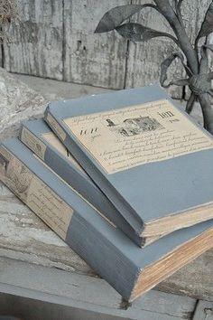 aesthetic light pastel gray books grey