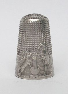 thimbles+|+left+:+By+Henry+Griffith+&+Sons,+a+sterling+silver+thimble+advertising+...