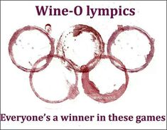 Wine Olympics #Olympics #LiquorList www.LiquorList.com @LiquorListcom (Pour Wine Funny) #WineWednesday