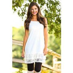 f77fa2359ec3 Essential Beauty Slip-Ivory - $28.00 Dress Extender Slip, Shirt Extender,  Shop Red