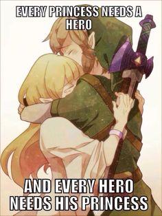 Toda princesa tem seu heroi e todo heroi tem sua princesa