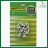 Nail in Plastic Hook / Handy Hardwall Hooks / Mini Picture Hooks