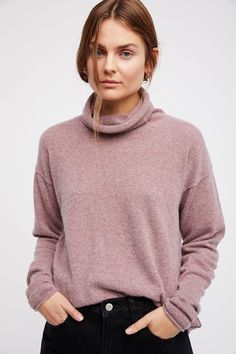 Shop our Cashmere Turtleneck Sweater at FreePeople.com. Share style pics with FP Me, and read & post reviews. Free shipping worldwide - see site for details.