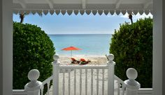 Lounging under a #TUUCI with a view like none other at the @myAlbanyBahamas. #Priceless