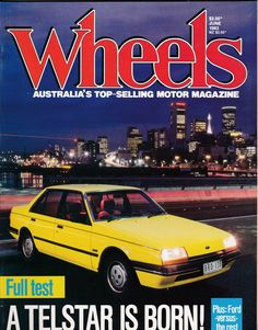 Gift For Him June 1983 Vintage Australian Wheels Magazine Birthday Idea or Christmas Idea for Him by SuesUpcyclednVintage on Etsy