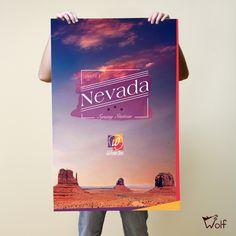 Poster desenvolvido para a Wordtris escola de idiomas.