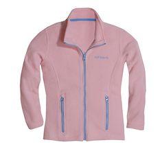 Youth Sizes Pink Zip Up Fleece Jacket - $15.99