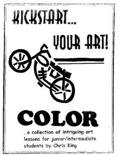 """No fail"" middle school visual art lessons, focusing on colour & spectrum"