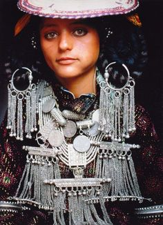 """Yemeni bridal jewellery- Image taken from the publication """"Tribal Asia; Ceremonies, Rituals and Dress"""