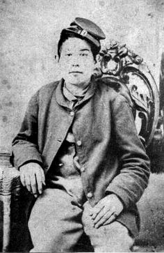 Hong Neok Woo - Asian American soldier, who fought in the civil war.   HISTORY of the Asian Pacific American Communities