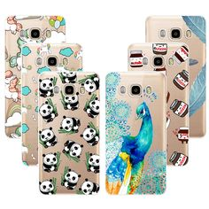Fashion Soft TPU Case For Samsung Galaxy J7 2016 J7108 J7109 Transparent Soft Silicone Cover Phone Cases For Samsung J7 2016