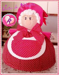Christmas Crafts, Christmas Decorations, Toy Craft, Clay Pots, Kitchen Towels, Crafts To Make, Princess Peach, Apron, Sewing Projects