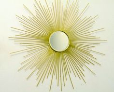 Another sunburst mirror! The steps for this one are explained so well!