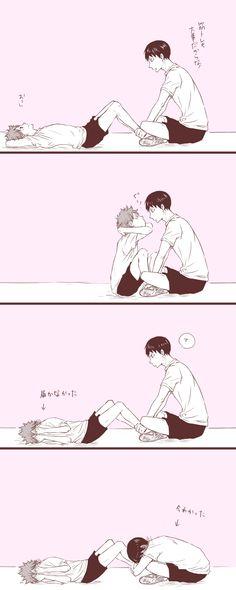 Sweet! Kageyama and Hinata <3