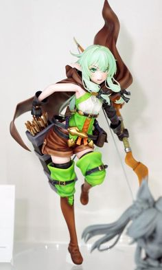 Goblin Slayer - 1/7 - Yousei Yunde - Phat Company (?) - Statuen / PVC - Figuren - Japanshrine High Elf, Anime Figurines, Anime Toys, Love And Respect, Sculpture Clay, All Anime, Game Character, Goblin, Fandom