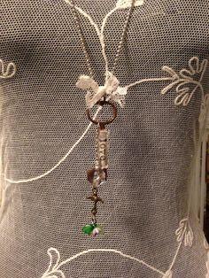 Vintage+Skeleton+Key+Necklace+LOVE+by+KariWolfDesigns+on+Etsy,+$40.00