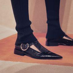 Victoria Beckham | #VBAW16 | Flat Pointy Shoe
