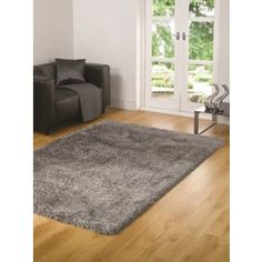 Silver Shaggy Rugs made with high quality polyester. http://www.therughouse.co.uk/shaggy-rugs