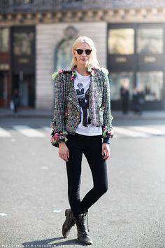 Aline Weber in Paris