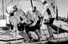 More hands make light work. Photography Jeff Brown. #regatta #superyacht #sailing #BVIs
